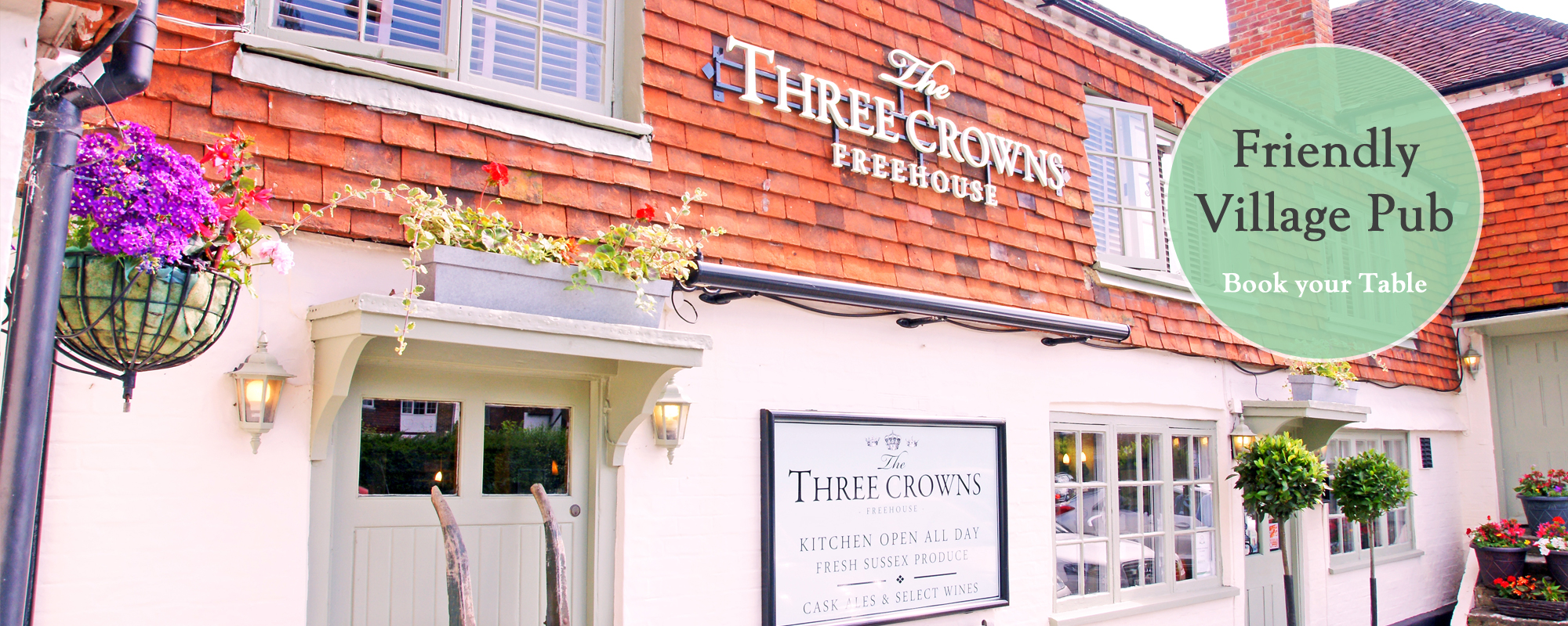 The Three Crowns - Wisborough